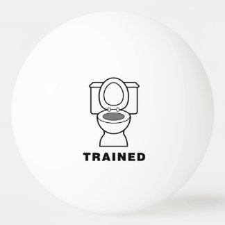 Toilet Trained Ping-Pong Ball