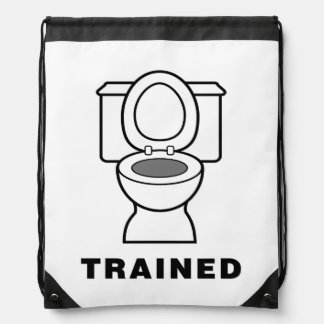 Toilet Trained Cinch Bags