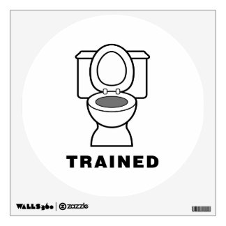 Toilet Trained Room Decal