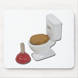 ToiletLargePlunger051411 Mouse Pad