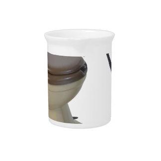 ToiletOnWheels082414 copy Drink Pitcher