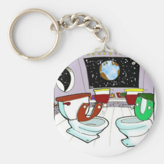 Toilets From Outer Space Funny Tees Mugs Cards Etc Keychain