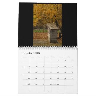 Toilets of Umbria Calendar