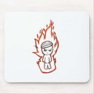 Toke Lurra / fire boy Mouse Pad