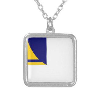 Tokelau-Bandera Collar Plateado