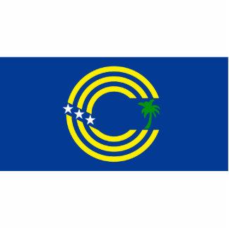 Tokelau, bandera de Nueva Zelanda Esculturas Fotográficas