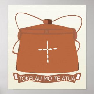 Tokelau Coat of Arms detail Poster