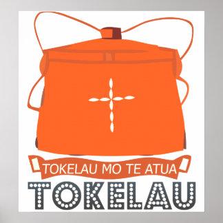 Tokelau Coat of Arms Poster