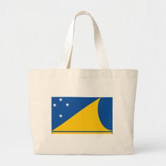 Tokelau Flag Tote Bags