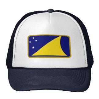 Tokelau flag embroidered effect hat