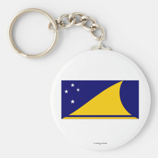 Tokelau Flag Key Chain