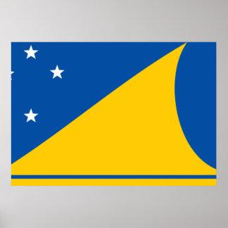 Tokelau Flag Print