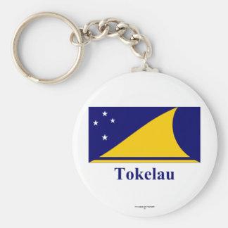 Tokelau Flag with Name Key Chains