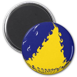 Tokelau Ganrly Flag Magnet