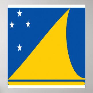Tokelau High quality Flag Posters
