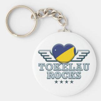 Tokelau Rocks v2 Key Chain