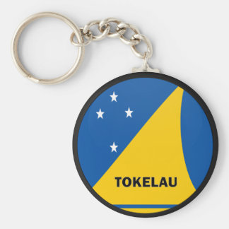 Tokelau Roundel quality Flag Keychain