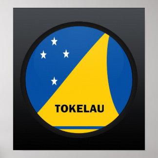 Tokelau Roundel quality Flag Poster