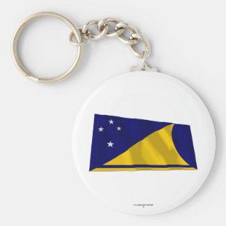 Tokelau Waving Flag Key Chains