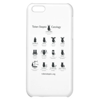 Token Skeptic Catology / Astrology iPhone 5C Covers