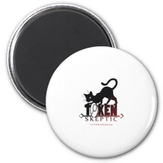 Token Skeptic Podcast 2 Inch Round Magnet