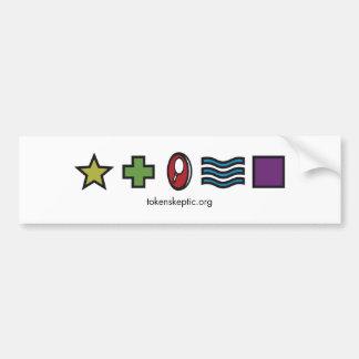 Token Skeptic Podcast Bumper Stickers