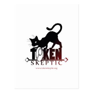 Token Skeptic Podcast Postcard