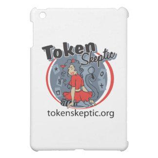 Token Skeptic Roller Derby Logo iPad Mini Case