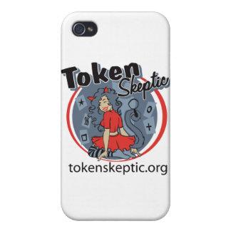 Token Skeptic Roller Derby Logo iPhone 4 Cover