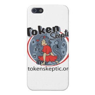 Token Skeptic Roller Derby Logo iPhone 5 Covers