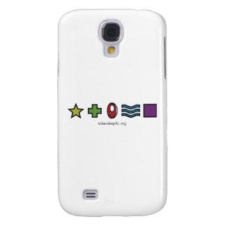 Token Skeptic Zener Logo Galaxy S4 Case