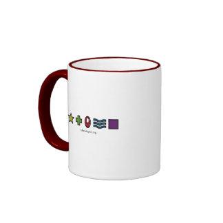 Token Skeptic Zener Logo Ringer Coffee Mug