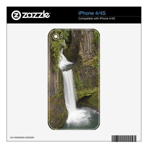 Toketee baja en el condado de Douglas, Oregon iPhone 4 Skins