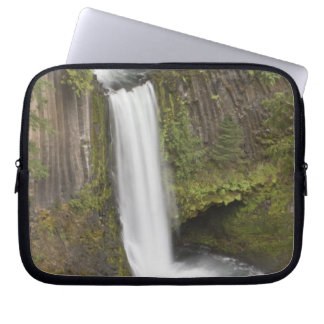 Toketee Falls in Douglas county, Oregon Computer Sleeve