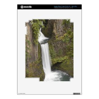 Toketee Falls in Douglas county, Oregon iPad 3 Skins