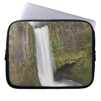 Toketee Falls in Douglas county Oregon Computer Sleeves
