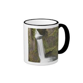 Toketee Falls in Douglas county, Oregon Ringer Coffee Mug