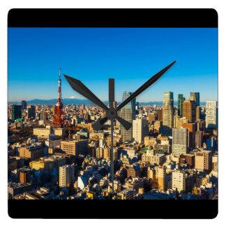 Tokio 001A Reloj Cuadrado
