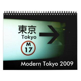 Tokio moderna 2009 calendarios