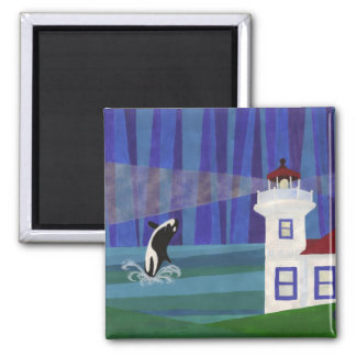Tokitae's Homecoming 2 Inch Square Magnet