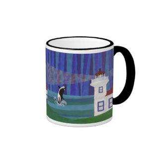 Tokitae's Homecoming Ringer Coffee Mug