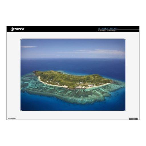 """Tokoriki Island, Mamanuca Islands, Fiji 15"""" Laptop Skin"""