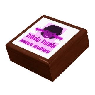 Toksie Turbie Hates Bullies Keepsake Box