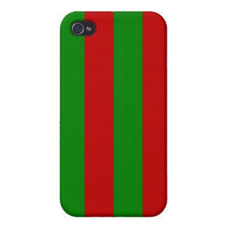 Toksie Turbie Red and Green Wallpaper Cover For iPhone 4