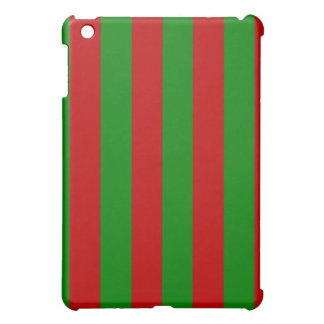 Toksie Turbie Red and Green Wallpaper iPad Mini Cover