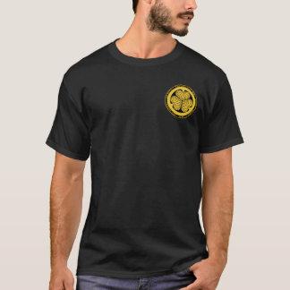 Tokugawa Clan Gold & Black Seal Shirt