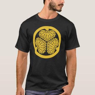 Tokugawa Clan Mon - Gold T-Shirt