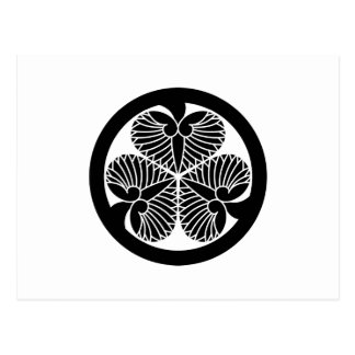 Tokugawa hollyhock 5(5th Tsunayoshi)23 Postcard