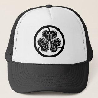 Tokugawa mallow (4 generation house cords 23 蕊) 4 trucker hat