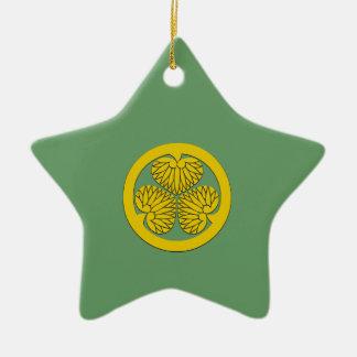 Tokugawa Shogun Crest Christmas Ornament